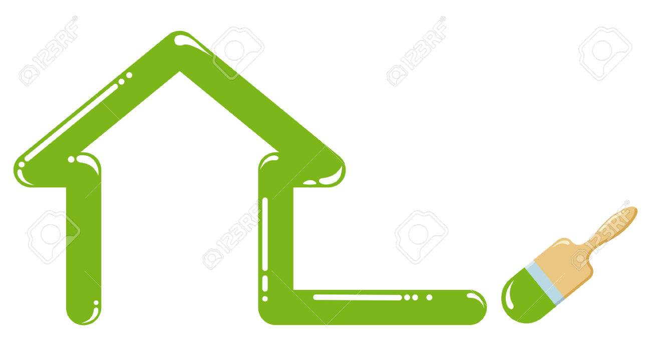 Symbol furnish of buildings - 6636155