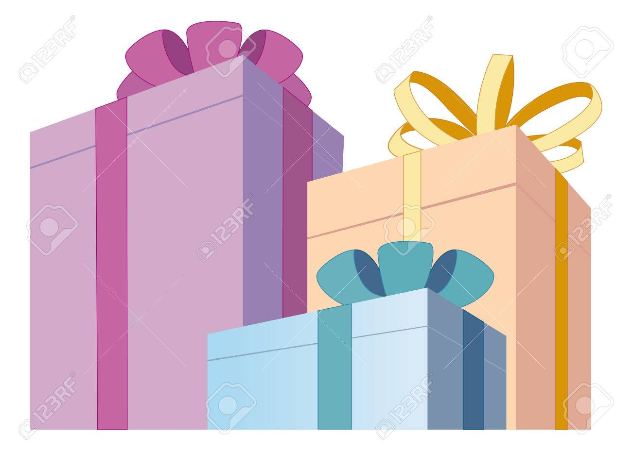 Gift boxes Stock Vector - 6636226