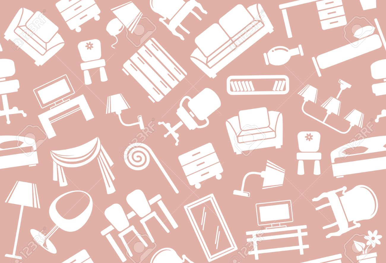 Furniture Design Background seamless furniture background royalty free cliparts, vectors, and