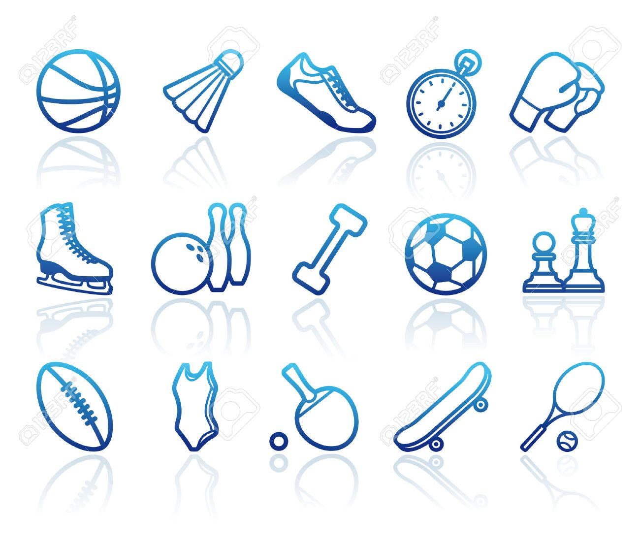 Sports symbols - 8388004