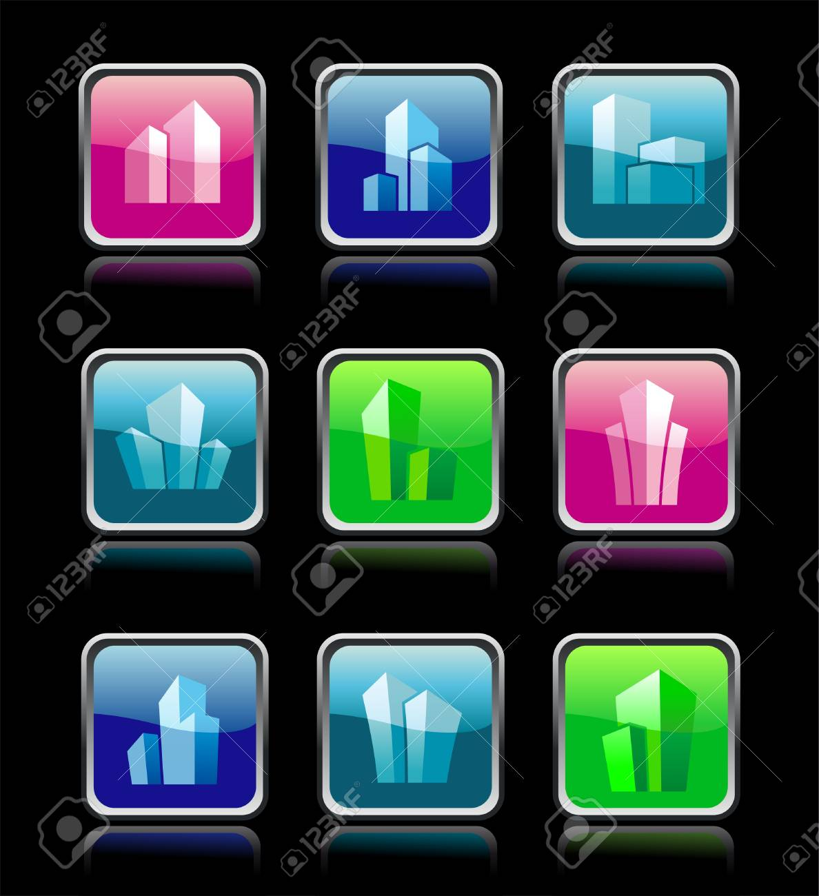House icon collection Stock Vector - 13008117