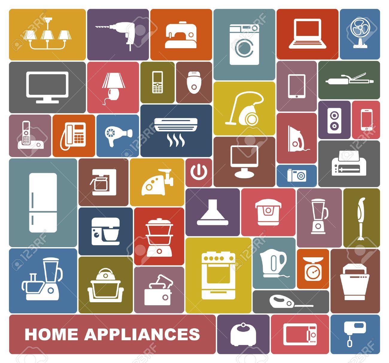 Home appliances Stock Vector - 19752661