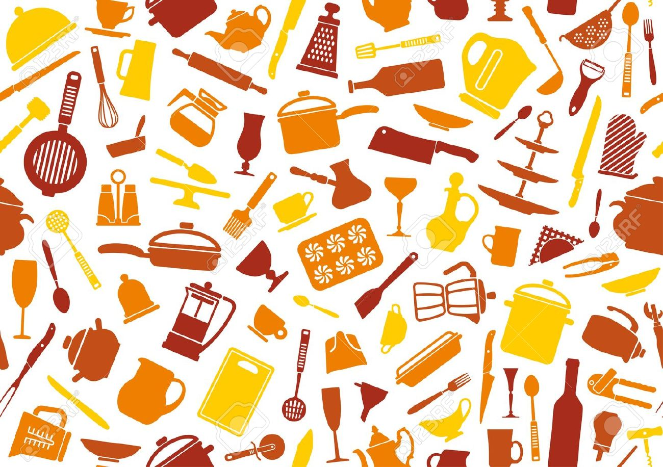 Cooking background Stock Vector - 20172231