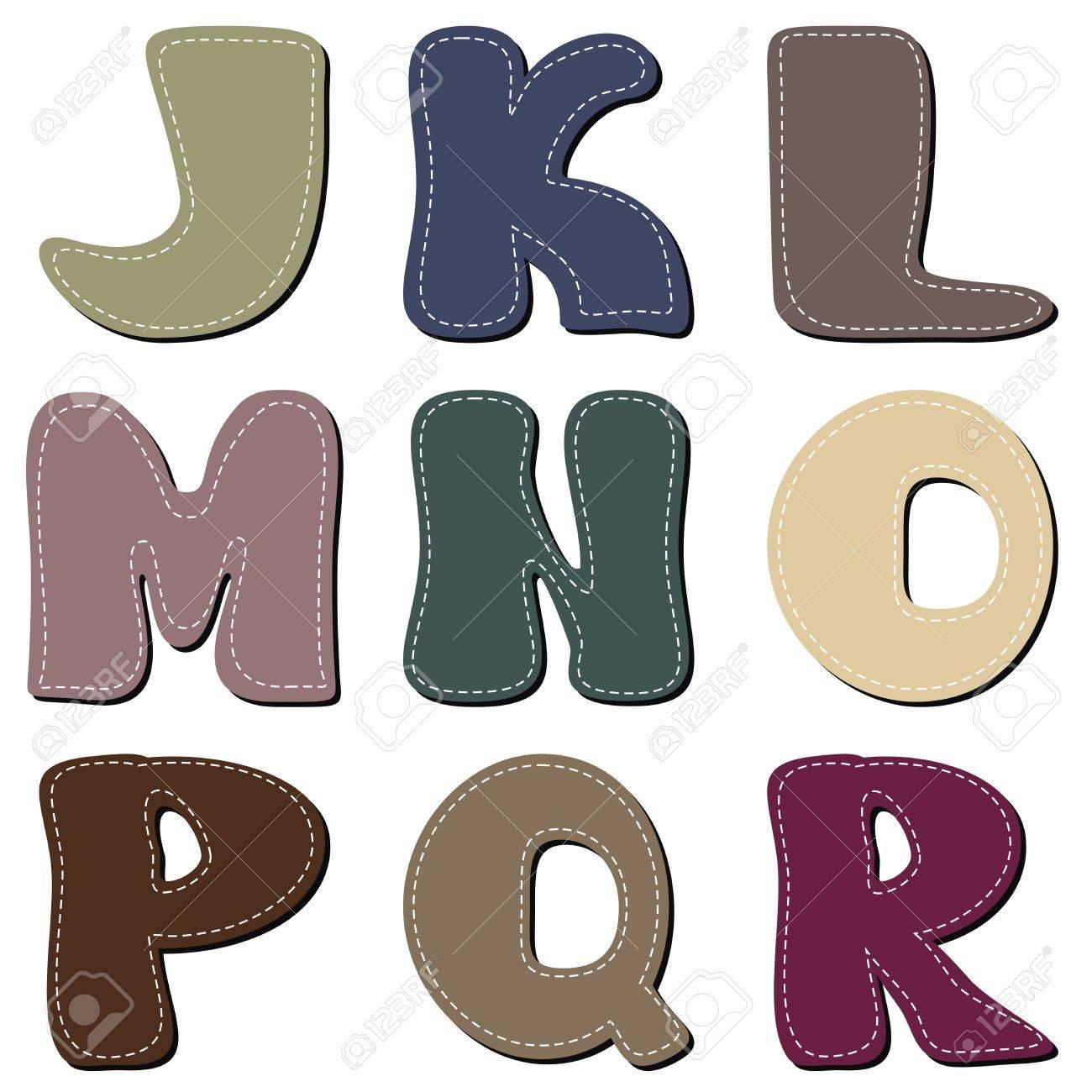 different colors letters scrapbook part 2 - 15785656