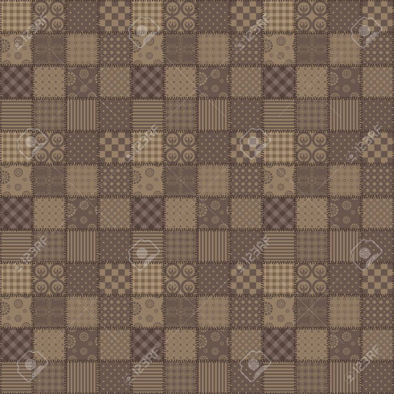 patchwork background with different patterns Stock Photo - 15983341