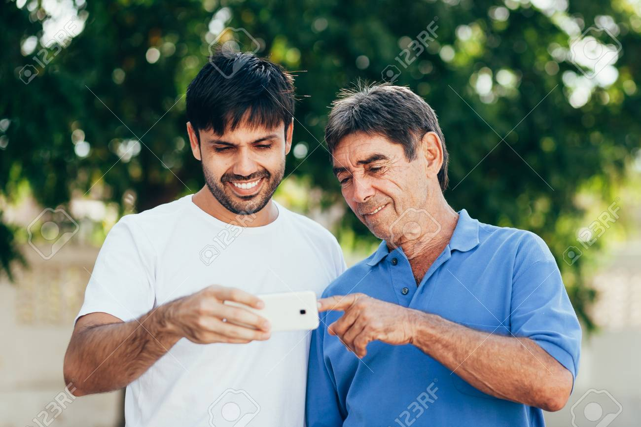 Son and father