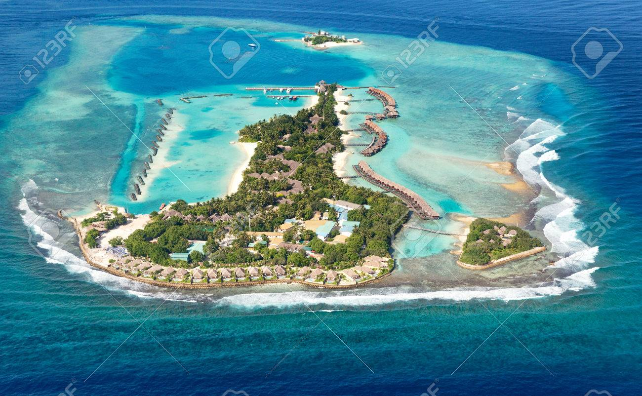 One of sea island located in maldives in area of north atoll stock one of sea island located in maldives in area of north atoll stock photo 24453886 publicscrutiny Gallery