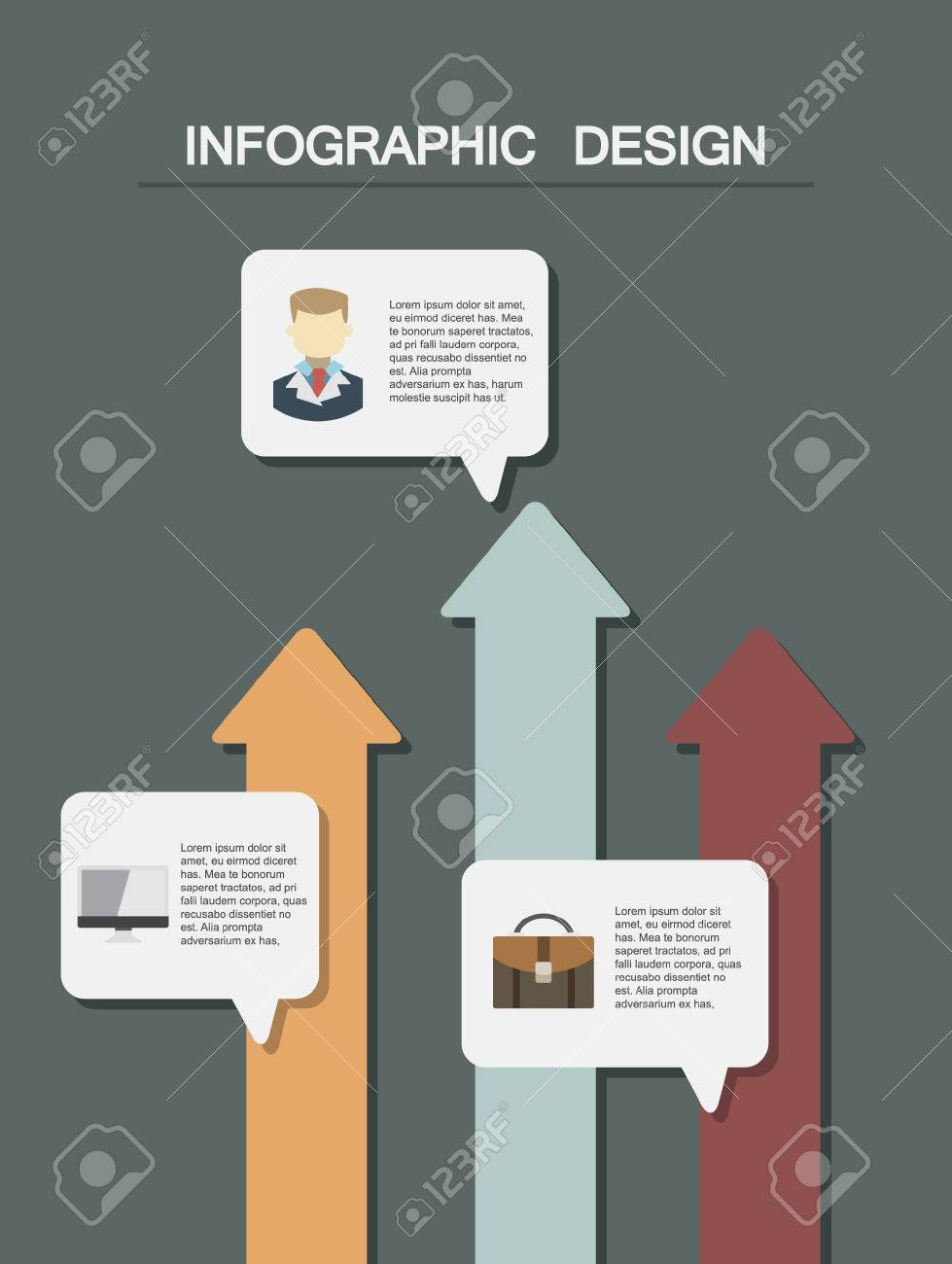 infographic element template for presentation minimal infographics