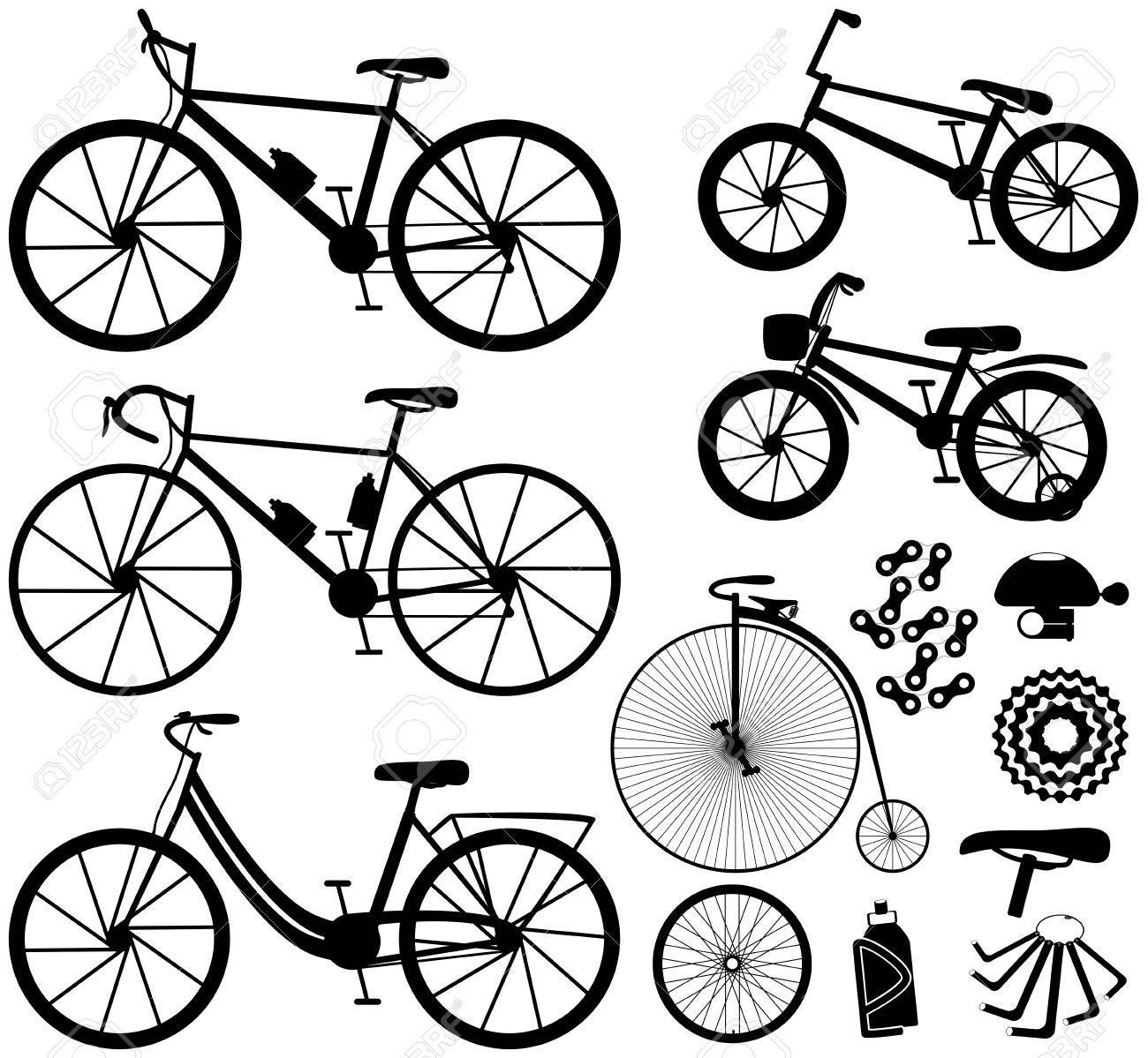 Sechs Arten Von Fahrrädern: Berg- Oder Cross-Country-Bike, Rennrad ...