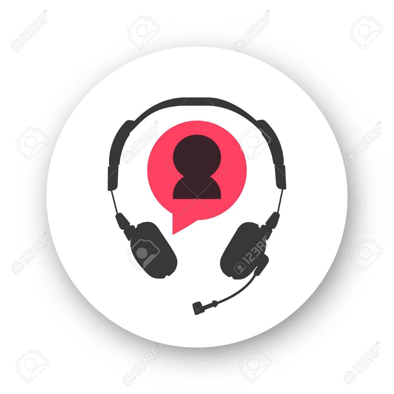 La Atención Al Cliente Logotipo Del Símbolo Del Servicio De Ayuda ...