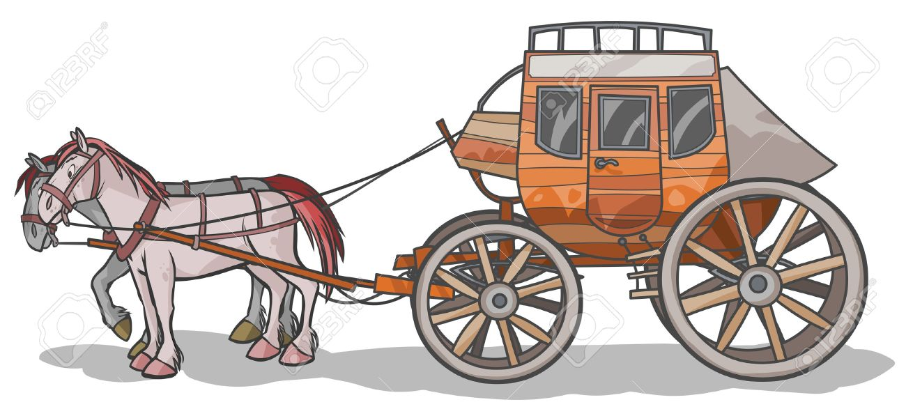 western stagecoach with horses royalty free cliparts vectors and rh 123rf com stagecoach clipart free stagecoach clipart free