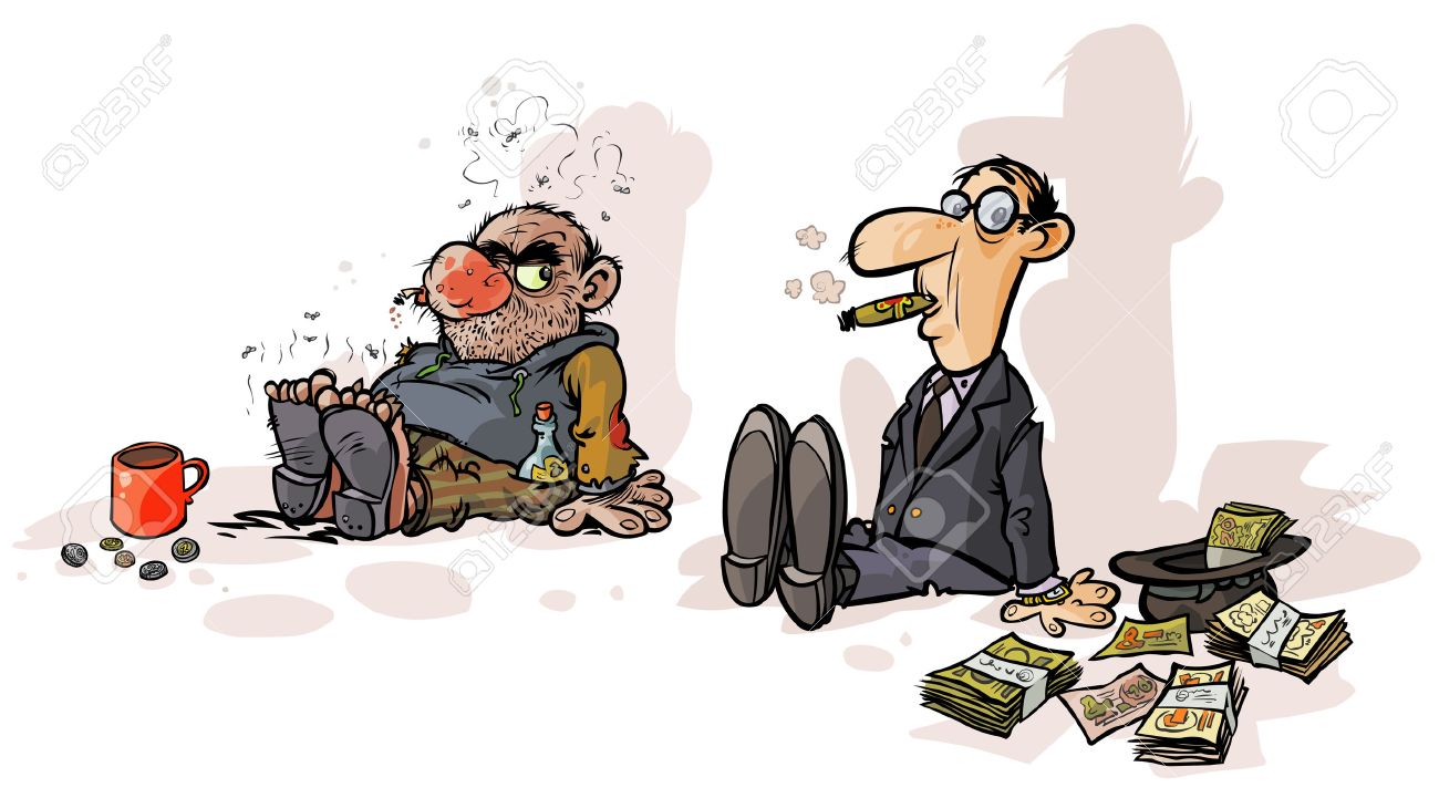 rich beggars