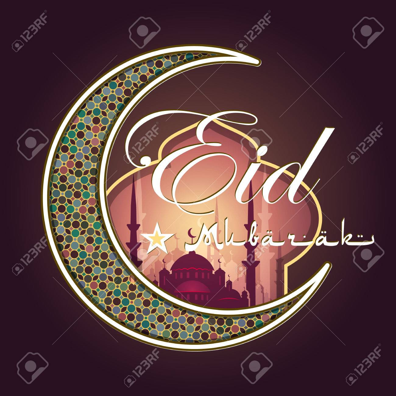 Amazing Happy Eid Al-Fitr Feast - 59282128-calligraphy-of-arabic-text-eid-al-fitr-feast-of-breaking-the-fast-holiday-greeting-card-in-retro-sty  Pictures_106224 .jpg