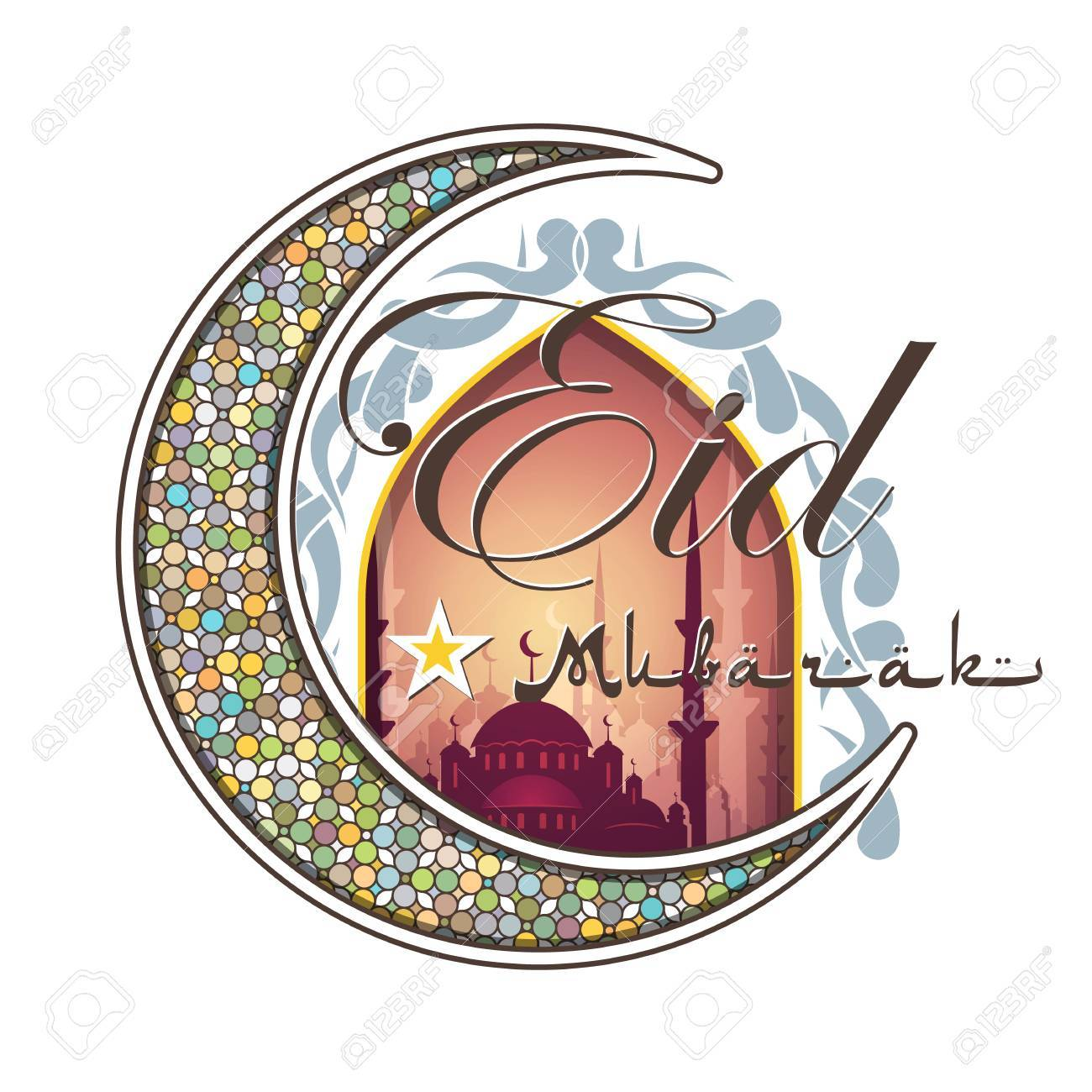 Most Inspiring Arabic Eid Al-Fitr Feast - 59282135-calligraphy-of-arabic-text-eid-al-fitr-feast-of-breaking-the-fast-holiday-greeting-card-in-retro-sty  Collection_968830 .jpg