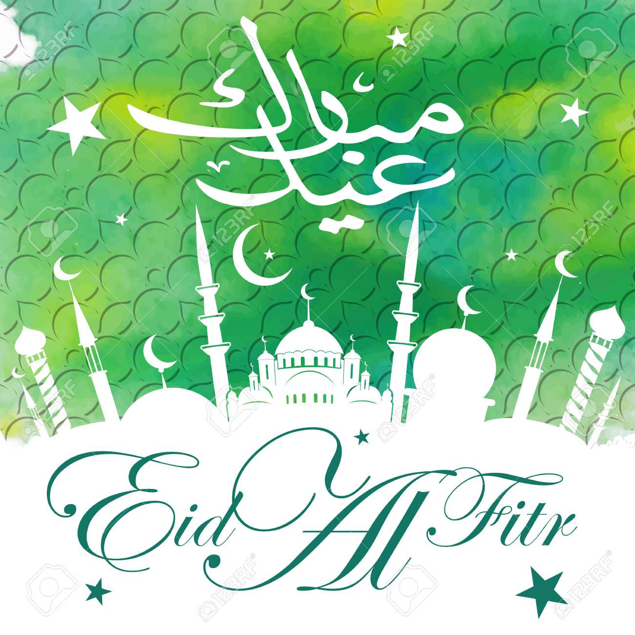 Simple Eid Holiday Eid Al-Fitr Greeting - 78757974-calligraphy-of-arabic-text-eid-al-fitr-feast-of-breaking-the-fast-holiday-greeting-card-in-retro-sty  Perfect Image Reference_324612 .jpg