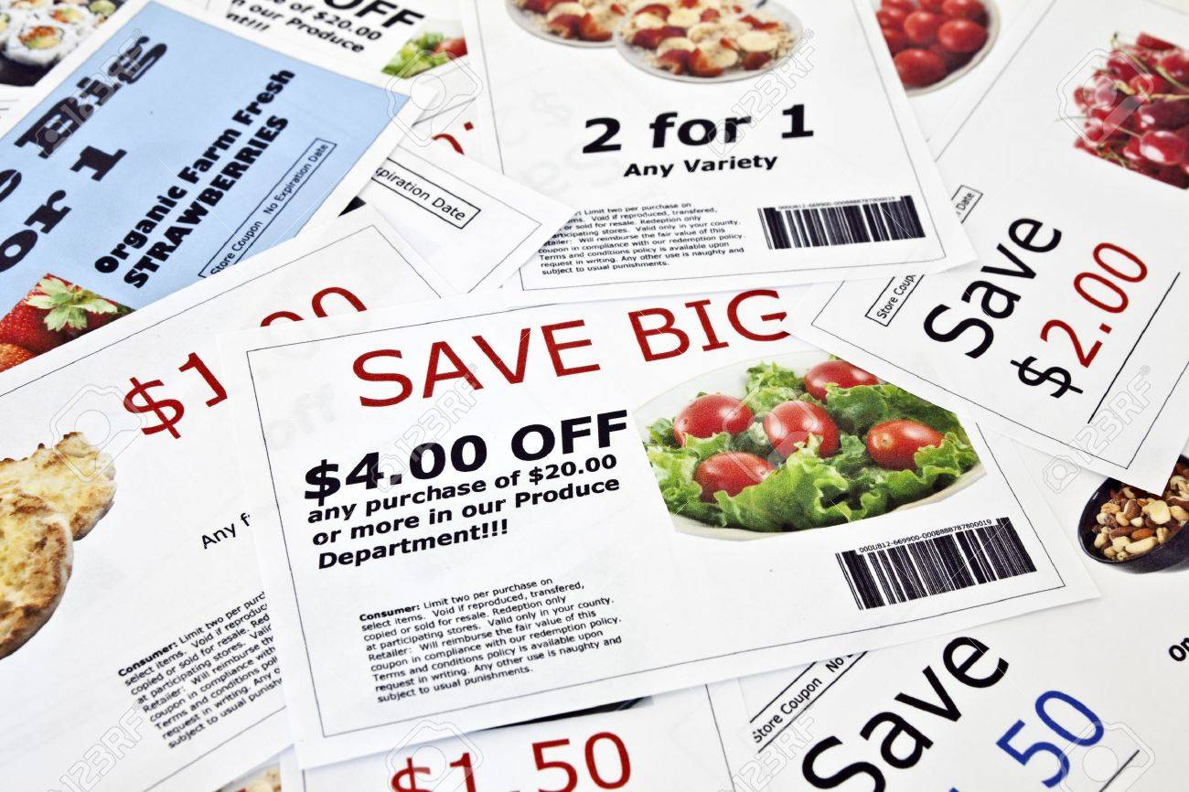 Fake coupon background Stock Photo - 7362212