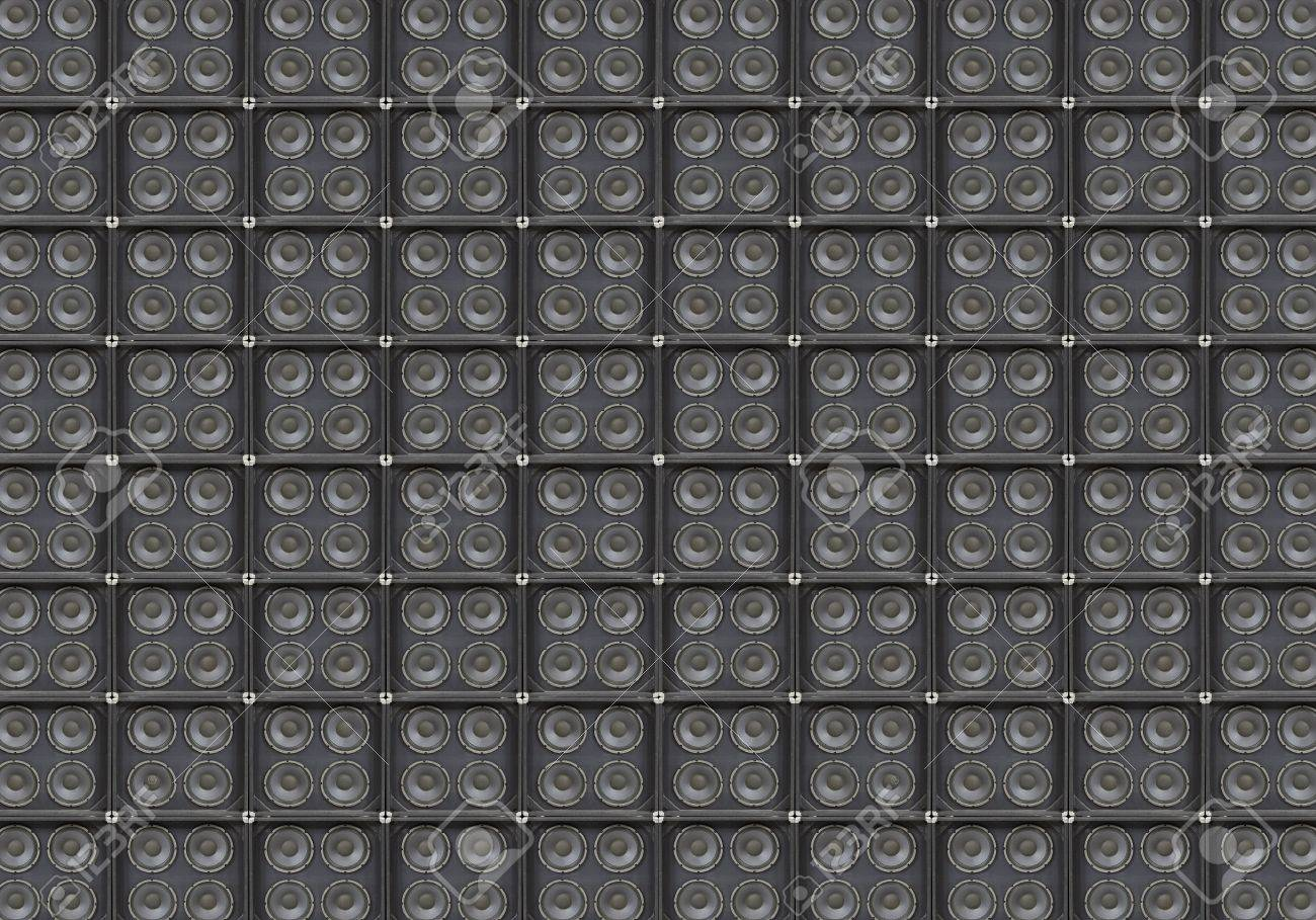 Vintage bass speaker wall background Stock Photo - 20452734