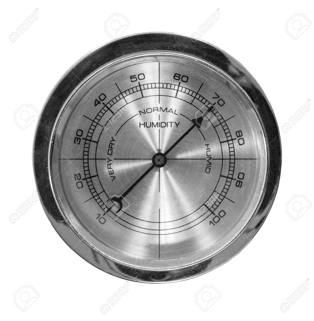 Humidity meter isolated with clipping path. Stock Photo - 22819542