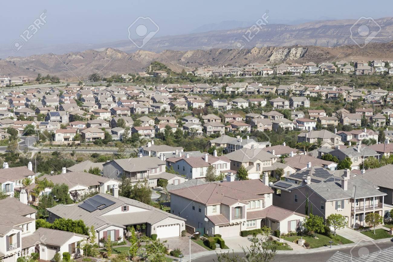 new suburban community in ventura county stock photo 30526464