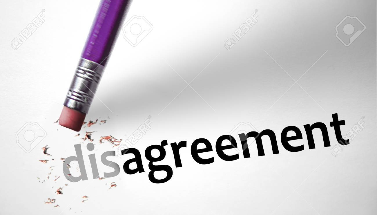 Eraser changing the word disagreement for agreement stock photo eraser changing the word disagreement for agreement stock photo 29500748 platinumwayz