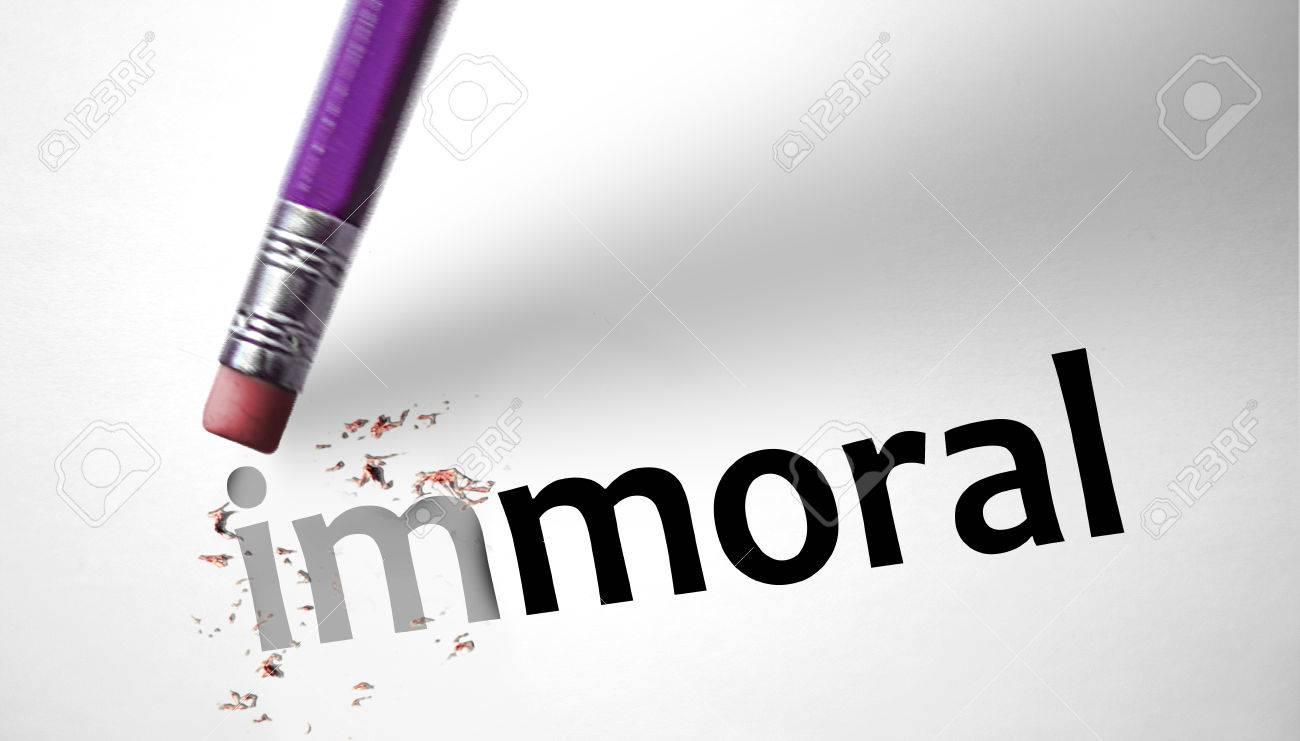 Resultado de imagen para inmoral