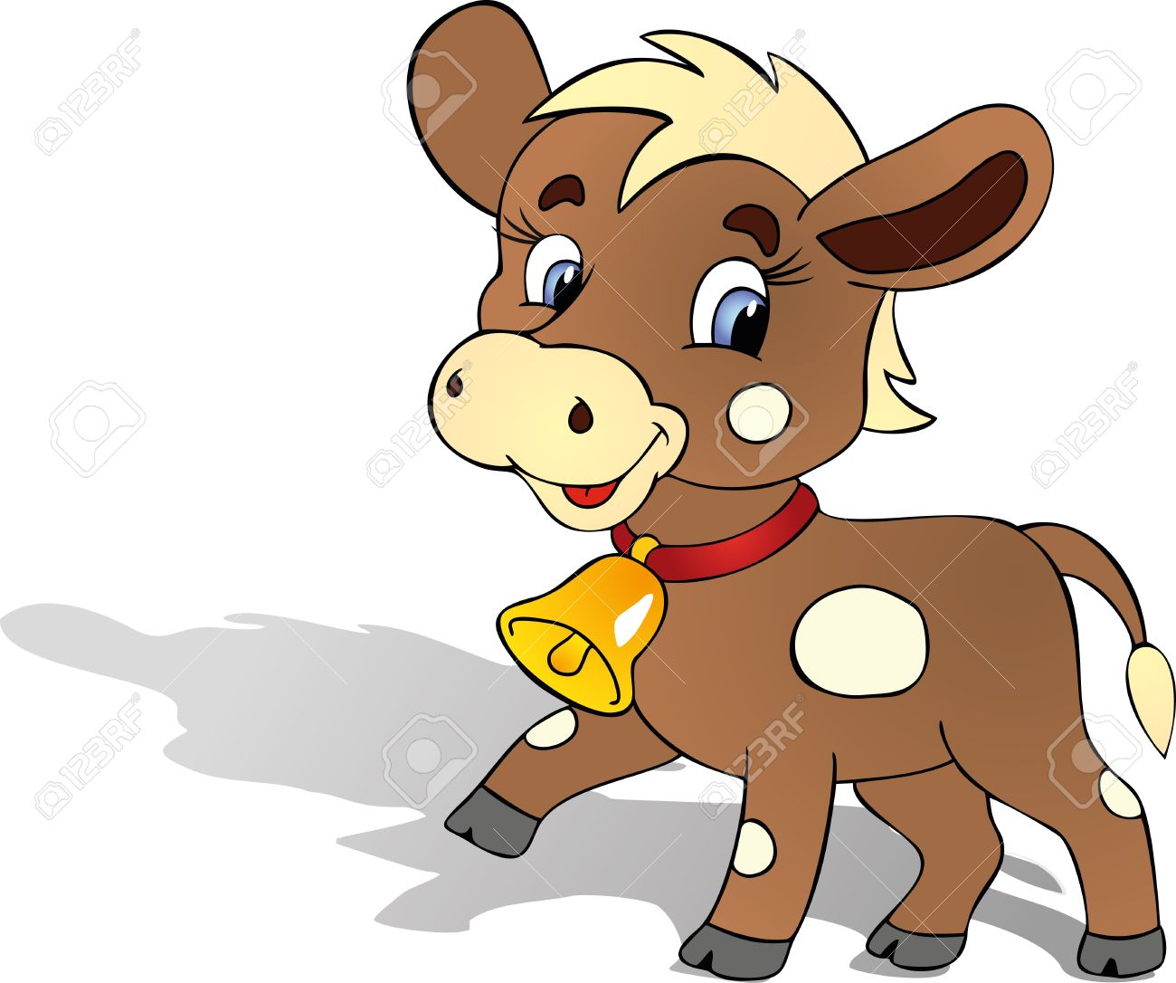 funny bull Stock Vector - 11812946