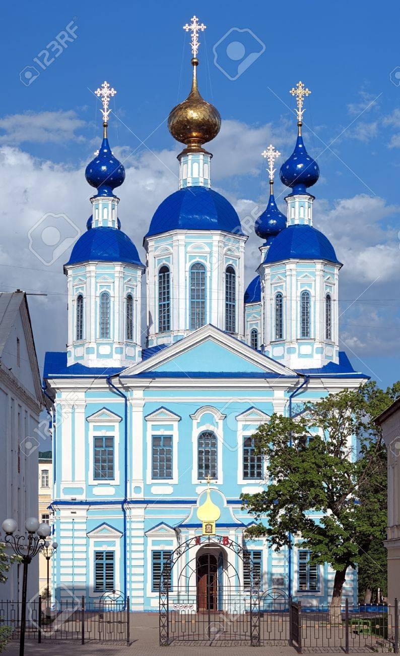 Kazan Cathedral of Kazan Monastery in Tambov, Russia Stock Photo - 13607377