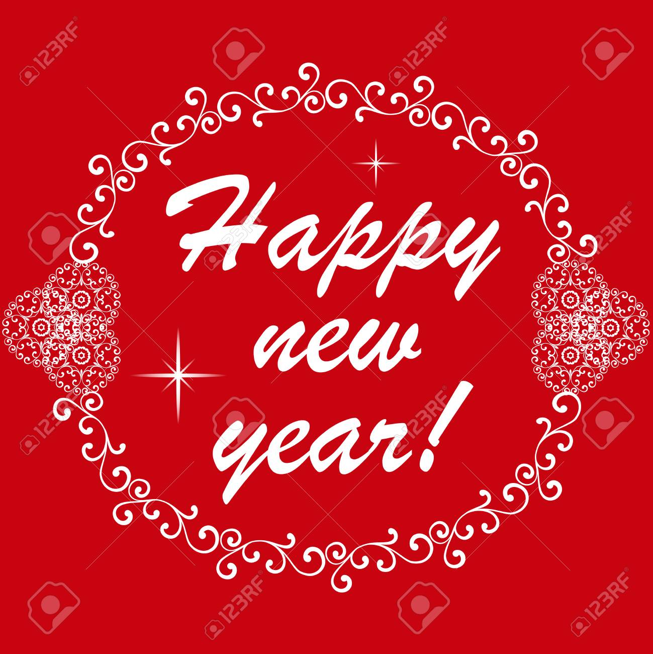 Happy new year 2015 vector illustration invitation or greeting happy new year 2015 vector illustration invitation or greeting card design stock vector m4hsunfo