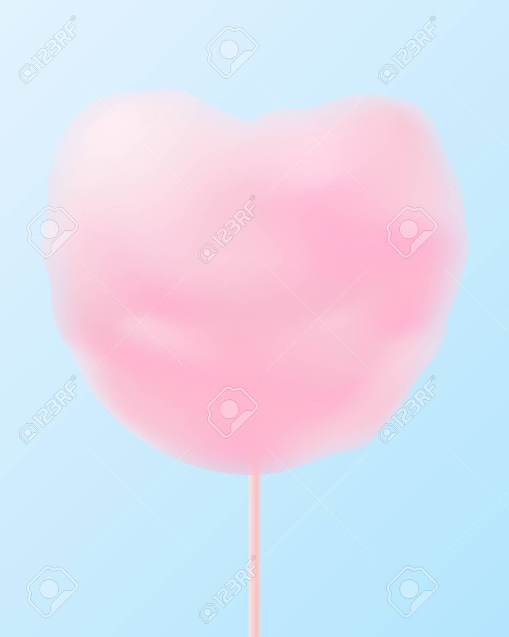 73e6cbf867ddb Cute pastel pink heart shaped cotton candy.