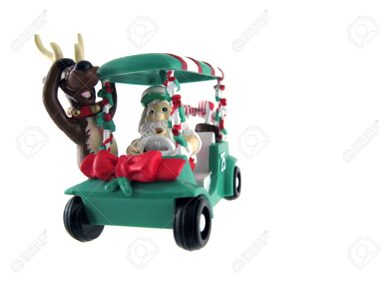 Xmas Golf Cart Html on