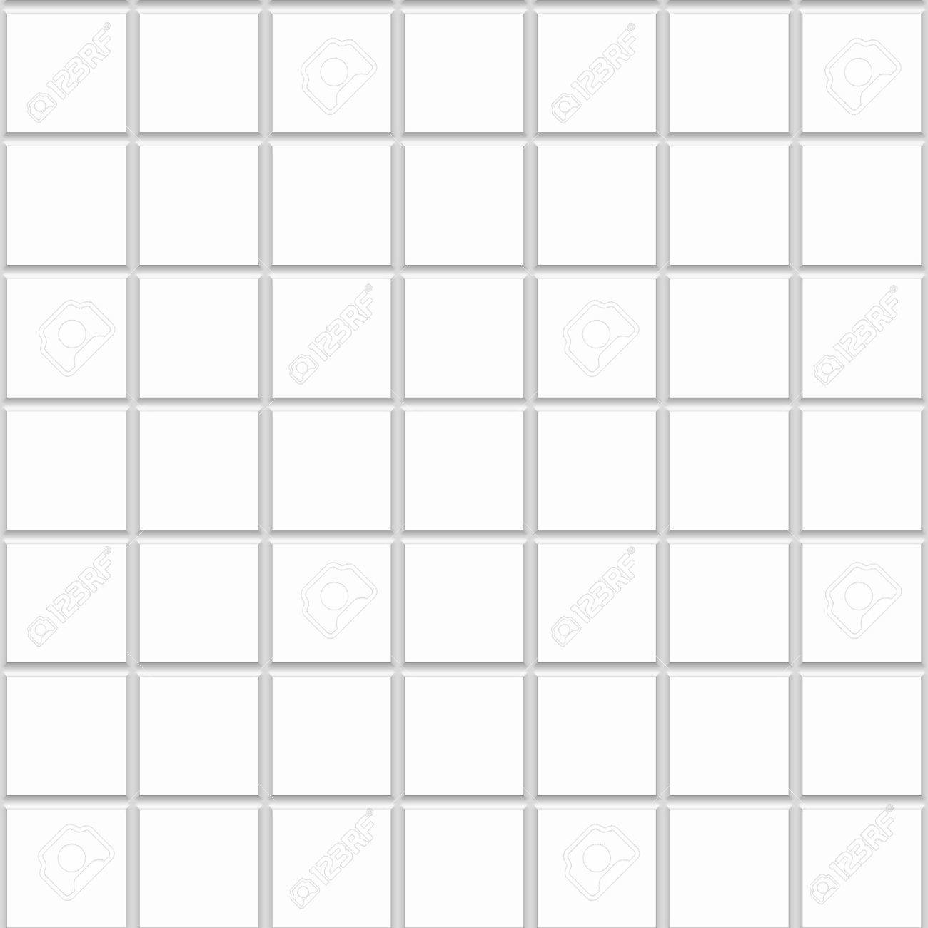 White Square Seamless Ceramic Tiles Texture Stock Photo Picture And - 10x10 white ceramic tiles