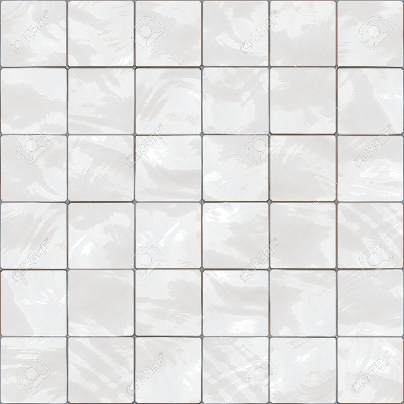 White Tile Floor Texture Shiny Seamless White Tiles Texture Stock Photo Picture And