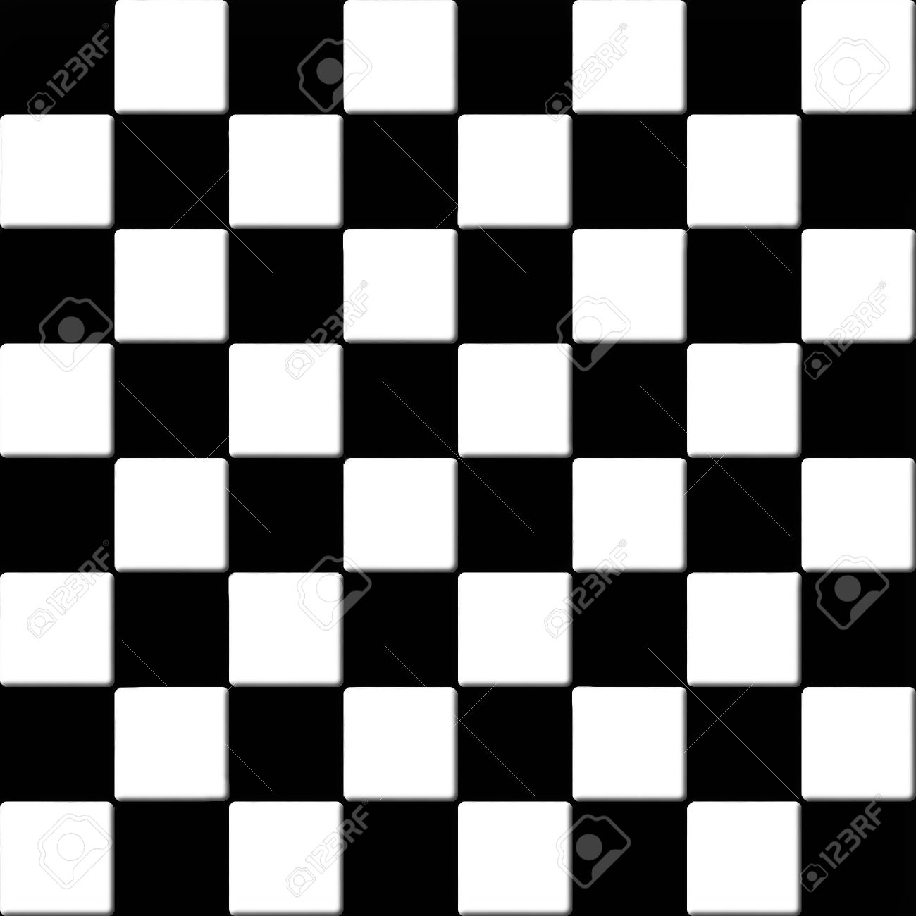 . Black And White Floor