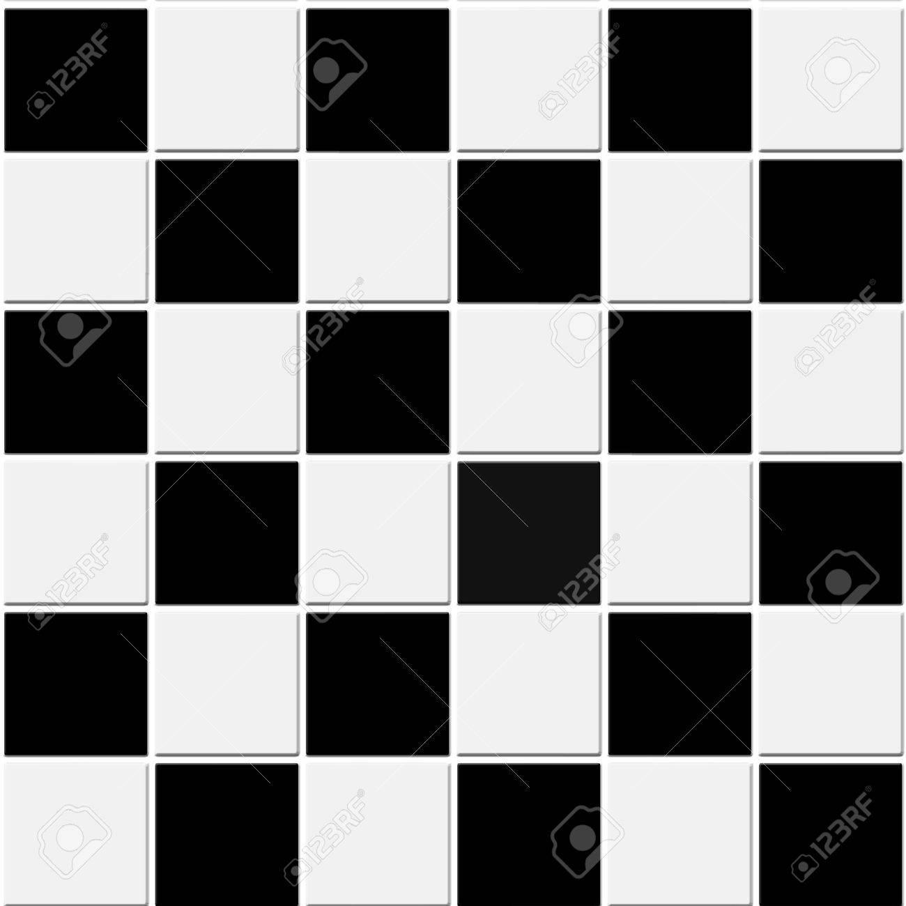 Seamless black and white checkered tiles texture Stock Photo   6995305. Seamless Black And White Checkered Tiles Texture Stock Photo