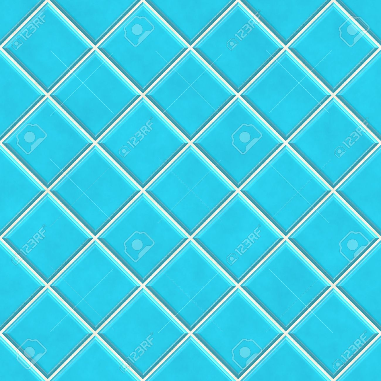 Blue Bathroom Floor Tiles Texture Seamless Blue Tiles Texture