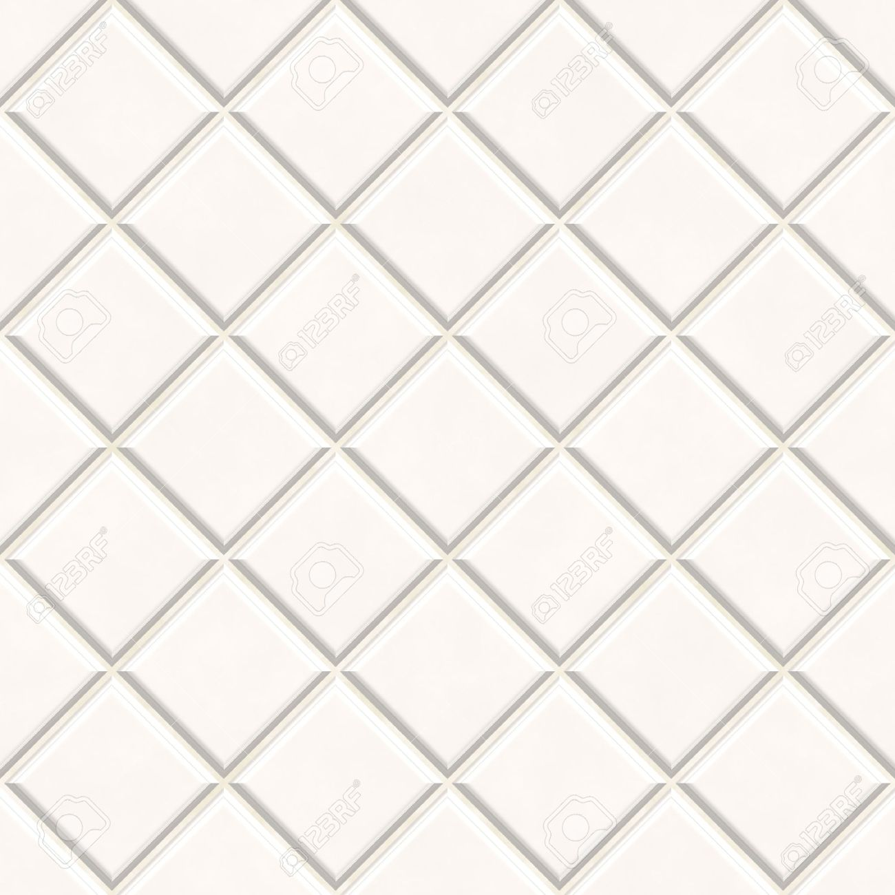 Seamless White Tiles Texture Background, Kitchen Or Bathroom Concept Stock  Photo   7306515