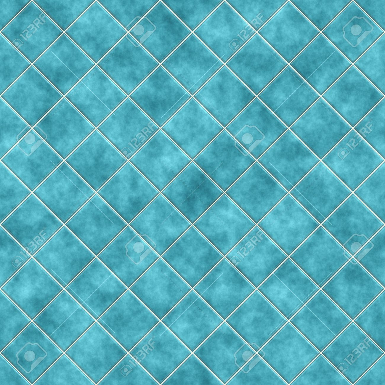 Seamless Blue Tiles Texture Background, Kitchen Or Bathroom ...