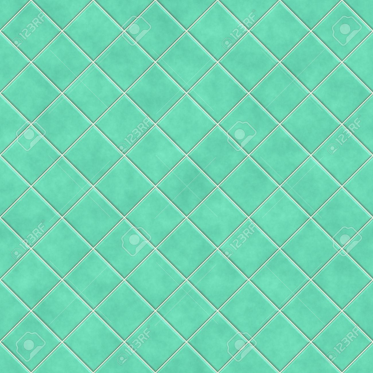 Hervorragend Nahtlose Grüne Fliesen Textur Hintergrund, Küche Oder Bad Konzept  Standard Bild   7306526