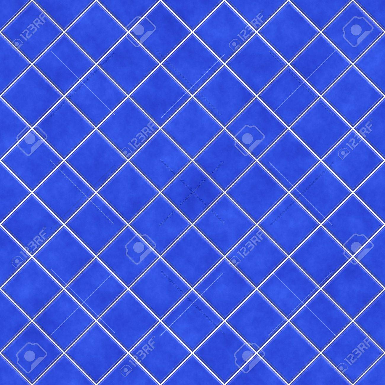 Blue Tiles Texture Background Kitchen Bathroom Or Pool Concept