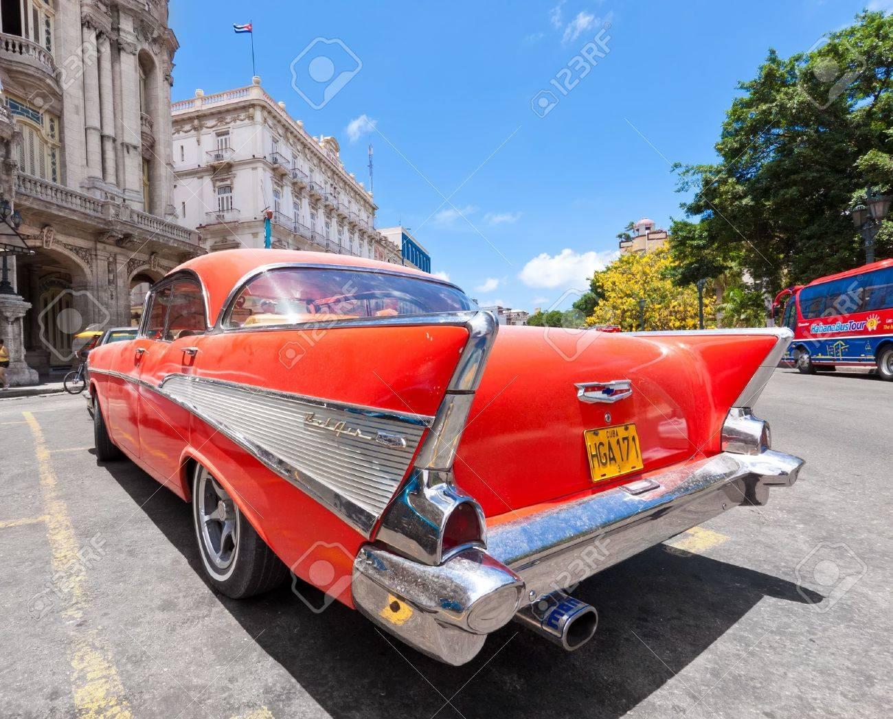 HAVANA-JUNE 4:Old Chevrolet June 4,2011 In Havana.Cubans Keep ...