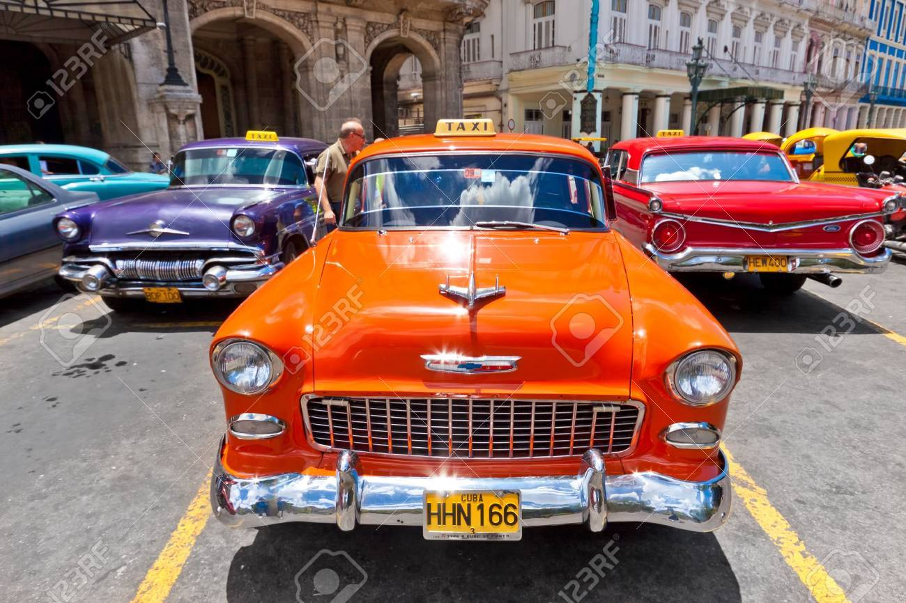 HAVANA-JUNE 4:Chevrolet And Other Classic Cars June 4,2011 In ...