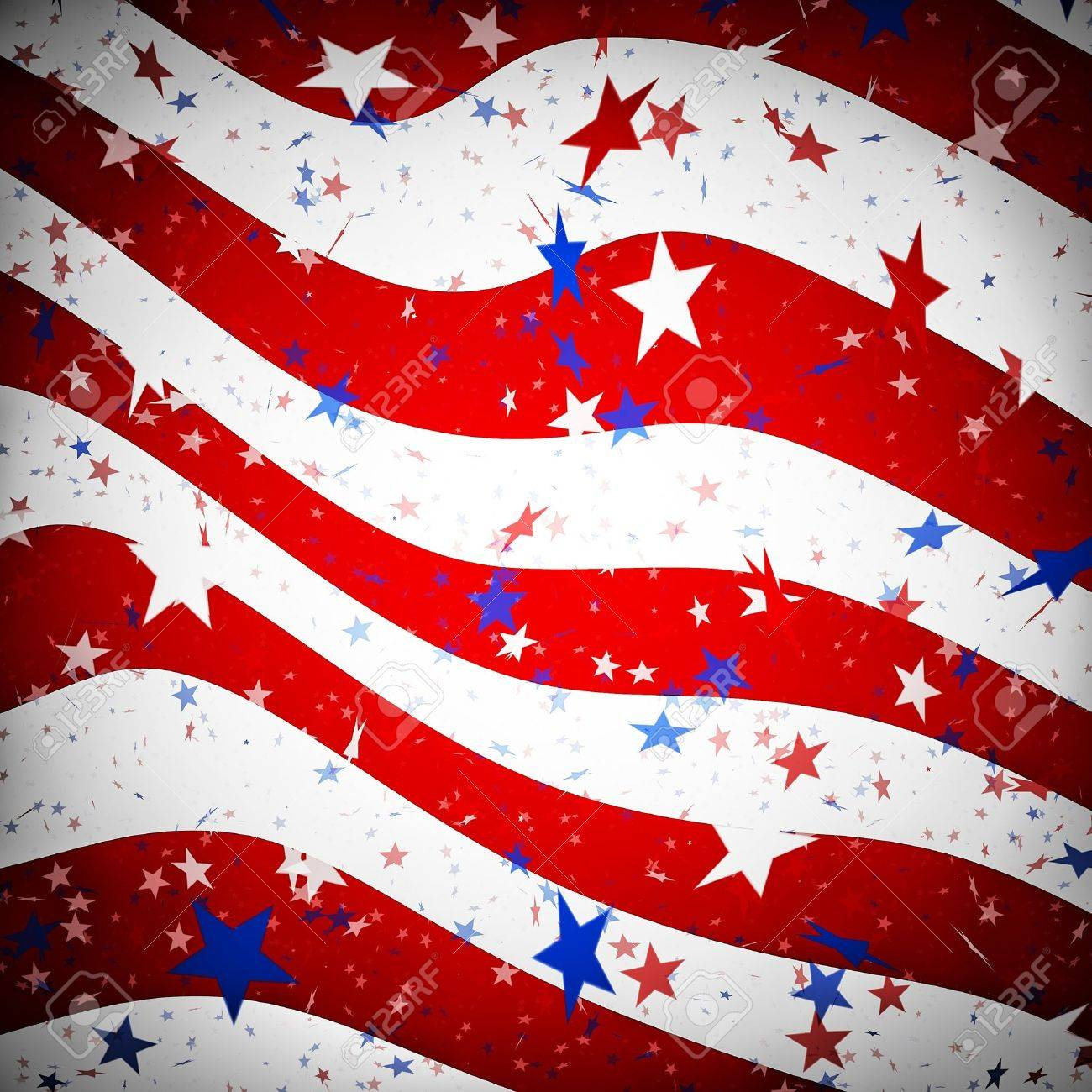 Background resembling the american flag Stock Photo - 10437392