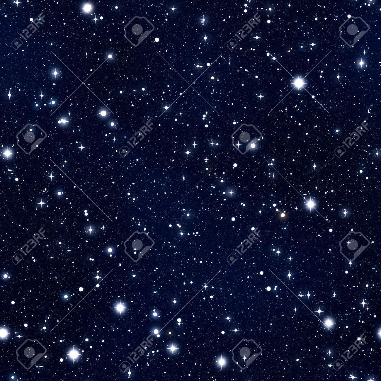 Seamless texture simulating the night sky with stars Stock Photo - 10437407