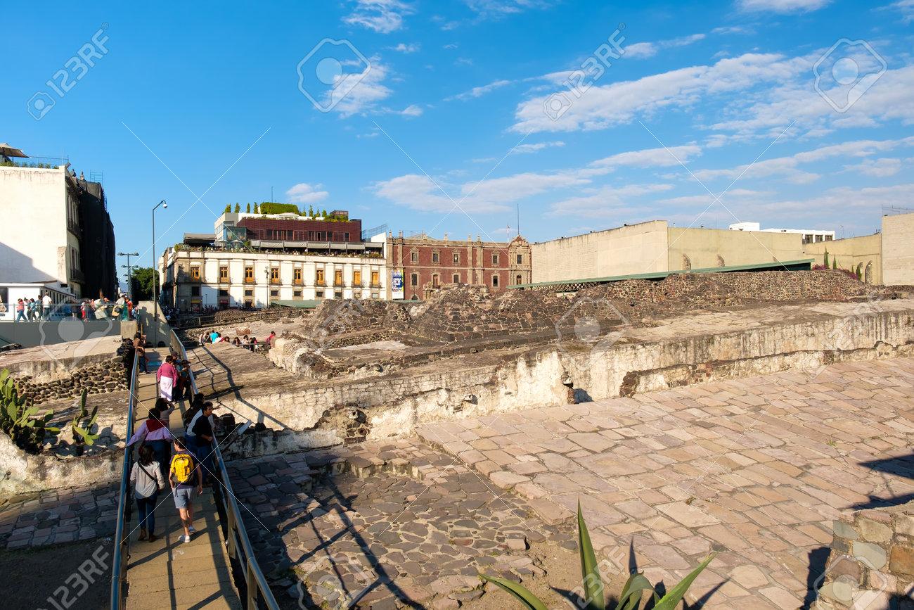 メキシコ シティ, 古代のテノチ...