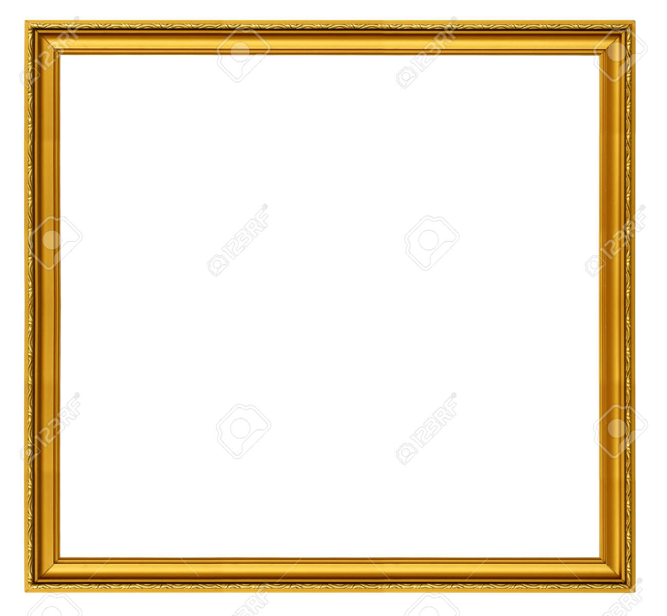 Xxl size golden square frame isolated on white stock photo xxl size golden square frame isolated on white stock photo 714647 jeuxipadfo Choice Image