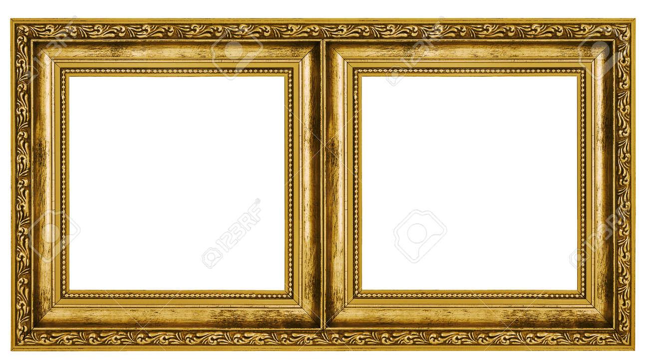 Double frame isolated on white background stock photo picture and double frame isolated on white background stock photo 37620458 jeuxipadfo Gallery