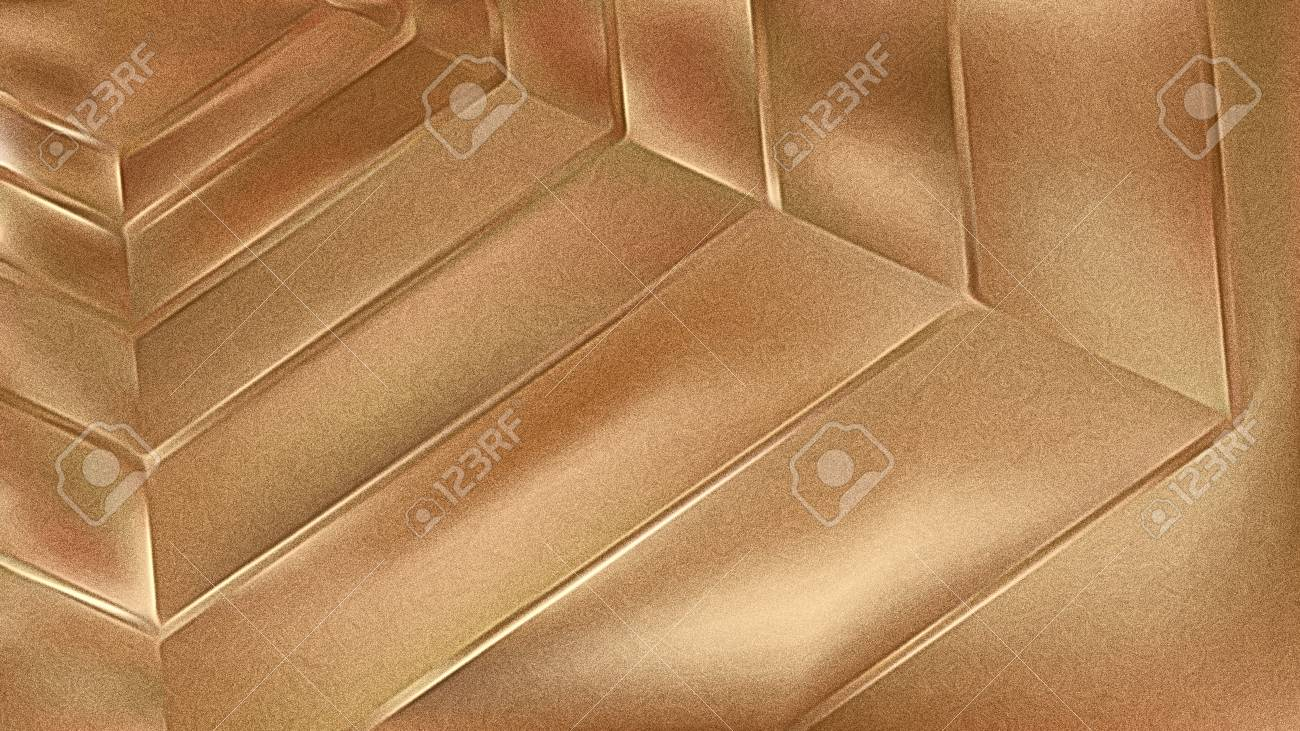 Brown Metallic Background - 121128947