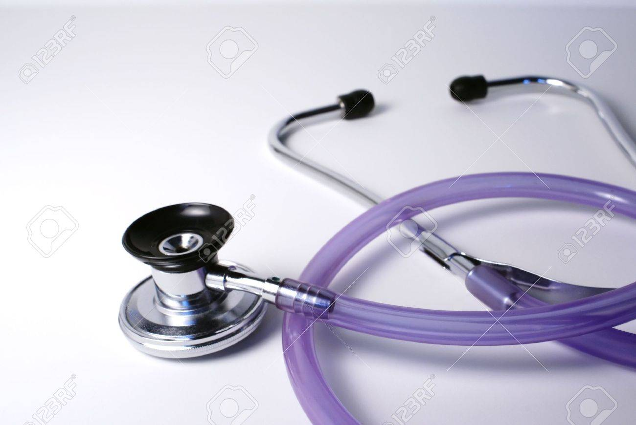a doctor's stethoscope Stock Photo - 499912