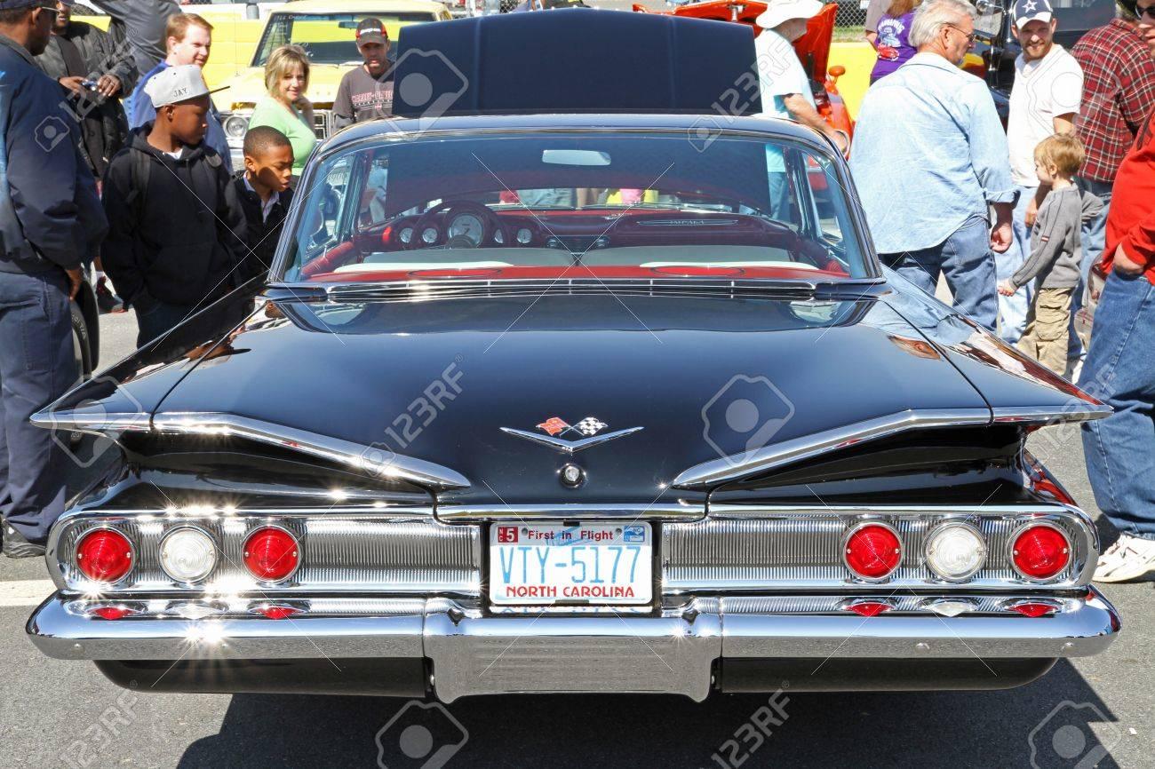 Impala 1960 chevrolet impala ss : Concord, North Carolina - April 6, 2013: A 1960 Chevrolet Impala ...