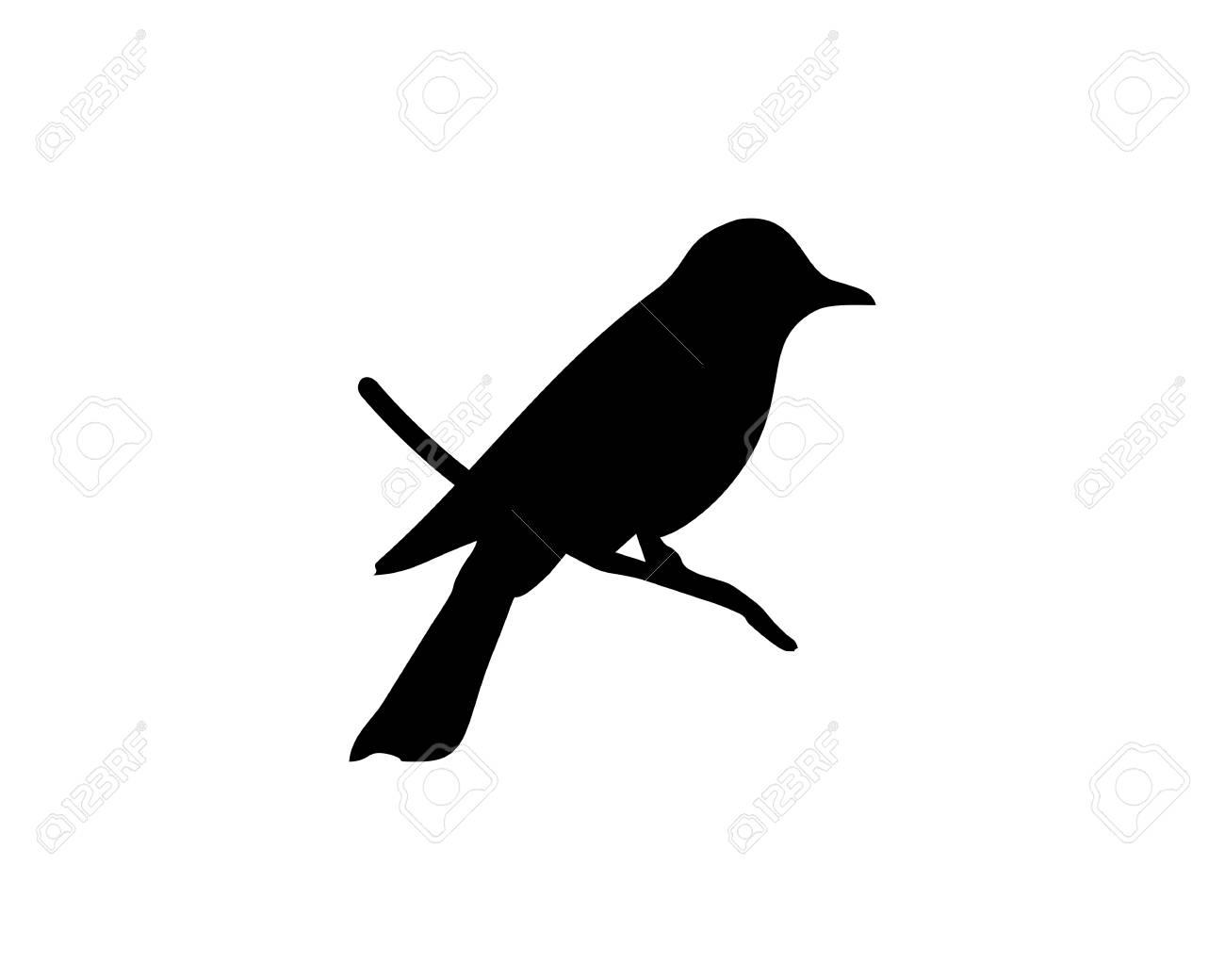 bird silhouette vector icon royalty free cliparts vectors and rh 123rf com cute bird silhouette vector sparrow silhouette vector